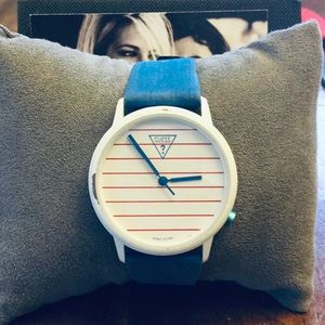 80's RARE Guess Yacht club watch
